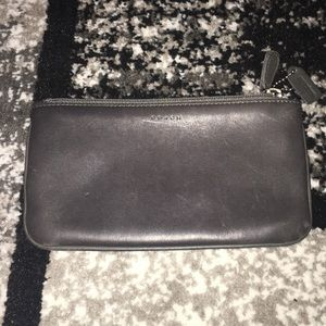 Genuine leather COACH small bag/clutch